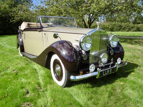 1949 Rolls Royce Silver Wraith Convertible For Sale (picture 2 of 6)