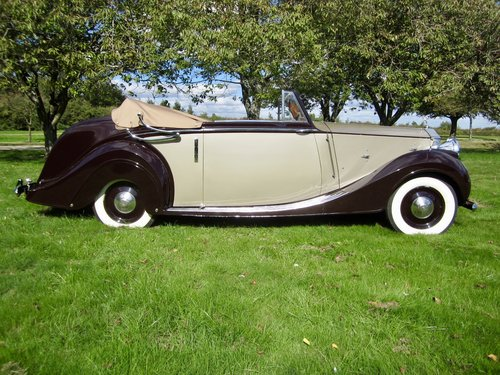 1949 Rolls Royce Silver Wraith Convertible For Sale (picture 3 of 6)
