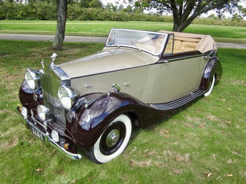 1949 Rolls Royce Silver Wraith Convertible For Sale (picture 4 of 6)