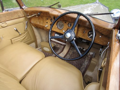1949 Rolls Royce Silver Wraith Convertible For Sale (picture 5 of 6)