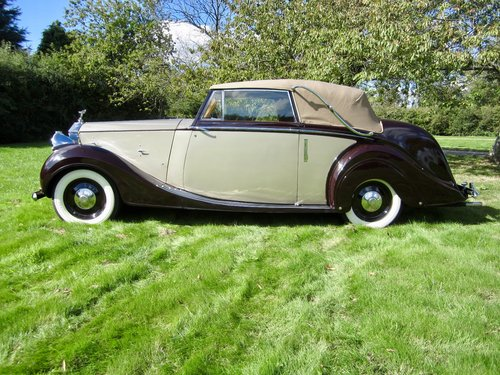 1949 Rolls Royce Silver Wraith Convertible For Sale (picture 6 of 6)