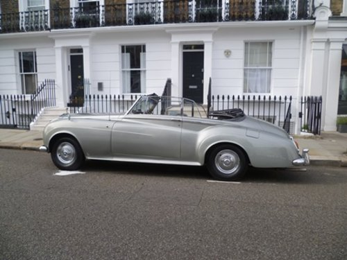 1962 Rolls-Royce  Silver Cloud 11 Mulliner convertible For Sale (picture 1 of 6)