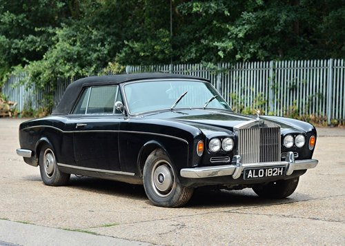 1968 CORNICE  CONVERTIBLE  OWNED  BY  SIR  MICHAEL CAINE  For Sale (picture 1 of 2)