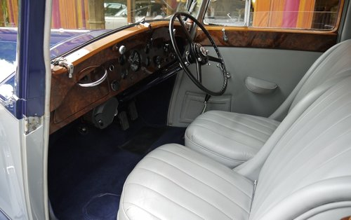 Rolls-Royce Phantom III 1937 4-door Sports Saloon by Hooper For Sale (picture 3 of 3)
