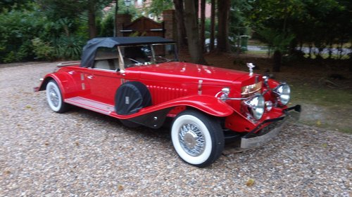 1931 RR Steel Bodied Springfield Playboy Coupe Tribute Car For Sale (picture 1 of 6)