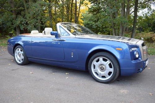 2008/58 Rolls Royce Phantom Drophead Coupé For Sale (picture 1 of 6)