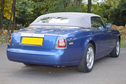 2008/58 Rolls Royce Phantom Drophead Coupé For Sale (picture 6 of 6)
