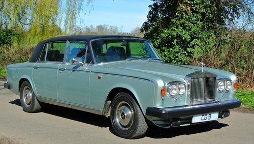 1980 ROLLS ROYCE SILVER WRAITH II  only 18k miles from new! For Sale (picture 1 of 6)