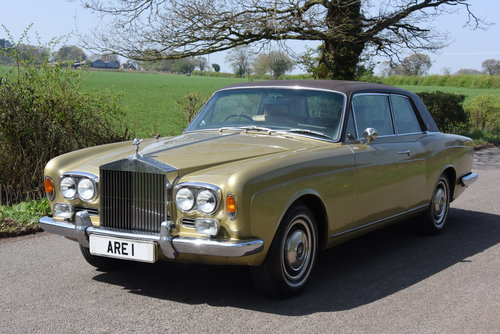 1974 ROLLS ROYCE CORNICHE COUPE      FHC   HISTORY FROM NEW For Sale (picture 1 of 6)