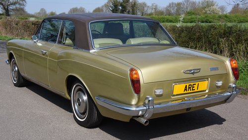 1974 ROLLS ROYCE CORNICHE COUPE      FHC   HISTORY FROM NEW For Sale (picture 3 of 6)