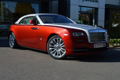 Rolls-Royce Dawn Convertible Auto 2018 (68)  -  RHD For Sale (picture 2 of 6)