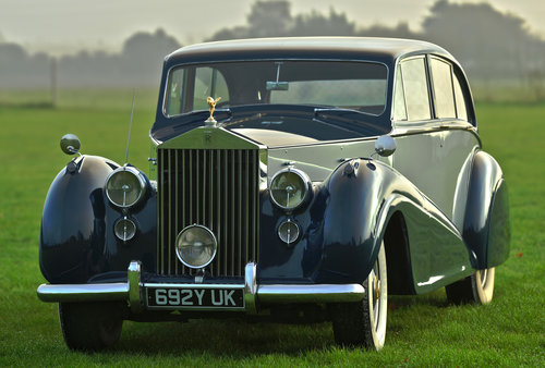 1952 Rolls-Royce Silver Wraith LWB by Park Ward For Sale (picture 1 of 6)