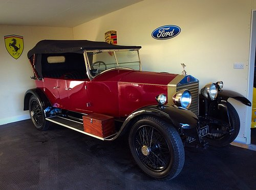 1927 ROLLS ROYCE 20HP TOURER BY HOOPER & CO - STUNNING - POSS PX For Sale (picture 1 of 6)