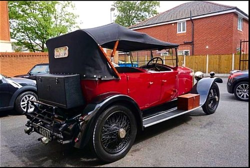 1927 ROLLS ROYCE 20HP TOURER BY HOOPER & CO - STUNNING - POSS PX For Sale (picture 2 of 6)