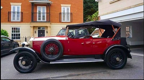 1927 ROLLS ROYCE 20HP TOURER BY HOOPER & CO - STUNNING - POSS PX For Sale (picture 3 of 6)