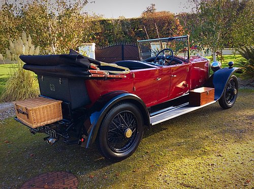 1927 ROLLS ROYCE 20HP TOURER BY HOOPER & CO - STUNNING - POSS PX For Sale (picture 6 of 6)