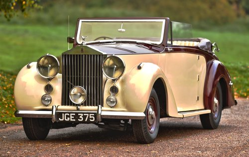 1951 Rolls Royce Silver Wraith 3 position DHC For Sale (picture 1 of 6)