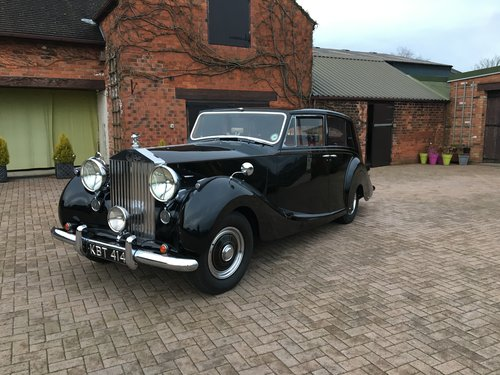 1951 RR Silver Wraith - Hooper ' Teviot' III For Sale (picture 1 of 6)