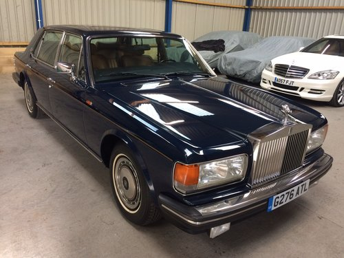 1990 Rolls Royce Silver Spur 6000 Miles FSH LHD Superb. For Sale (picture 1 of 6)