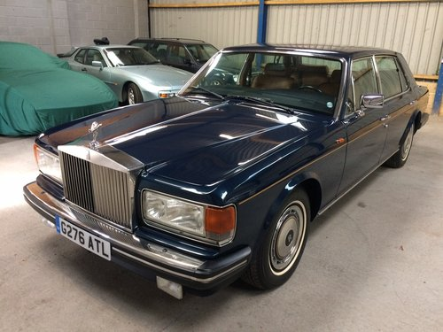 1990 Rolls Royce Silver Spur 6000 Miles FSH LHD Superb. For Sale (picture 3 of 6)