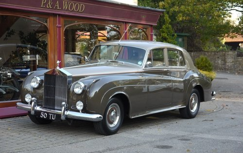 Rolls-Royce Silver Cloud I 1959 Standard Saloon For Sale (picture 1 of 3)