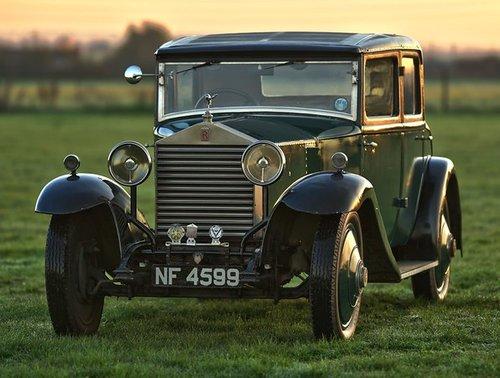 1927 Rolls Royce 20hp H.J. Mulliner Weyman Saloon. SOLD (picture 1 of 6)