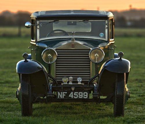 1927 Rolls Royce 20hp H.J. Mulliner Weyman Saloon. SOLD (picture 2 of 6)