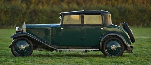 1927 Rolls Royce 20hp H.J. Mulliner Weyman Saloon. SOLD (picture 3 of 6)