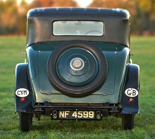 1927 Rolls Royce 20hp H.J. Mulliner Weyman Saloon. SOLD (picture 4 of 6)