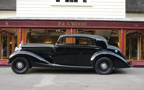 Rolls-Royce Phantom III 1938 Sports Saloon by Gurney Nutting For Sale (picture 2 of 4)