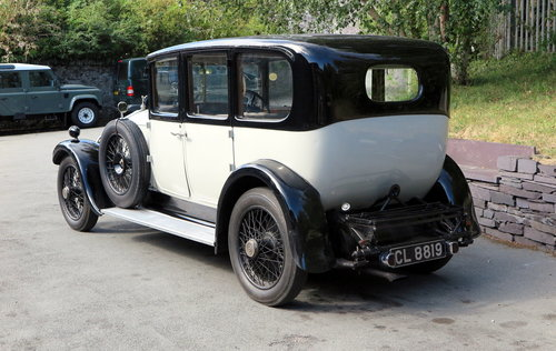 1926 Rolls-Royce 20hp Arthur Mulliner Six Light Saloon GZK64 For Sale (picture 2 of 6)