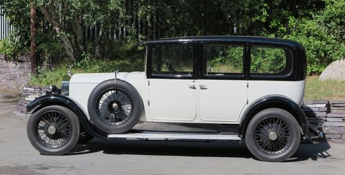1926 Rolls-Royce 20hp Arthur Mulliner Six Light Saloon GZK64 For Sale (picture 3 of 6)