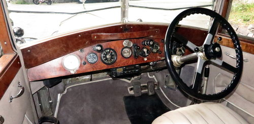 1926 Rolls-Royce 20hp Arthur Mulliner Six Light Saloon GZK64 For Sale (picture 4 of 6)