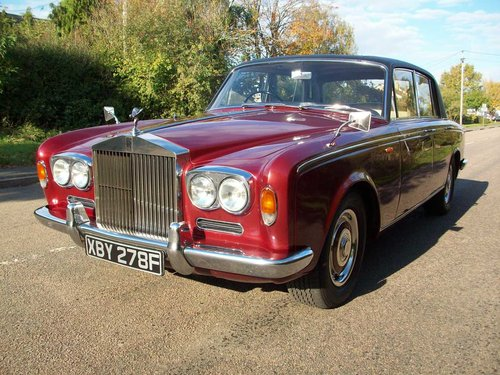 1968 ROLLS-ROYCE SILVER SHADOW SOLD (picture 1 of 6)