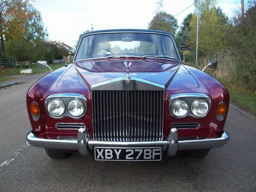 1968 ROLLS-ROYCE SILVER SHADOW SOLD (picture 2 of 6)