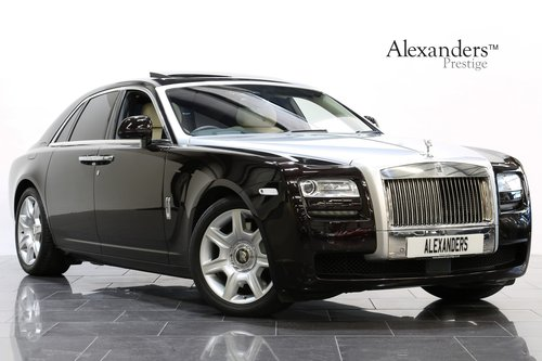 2013 13 ROLLS ROYCE GHOST 6.6 V12 AUTO  For Sale (picture 1 of 6)
