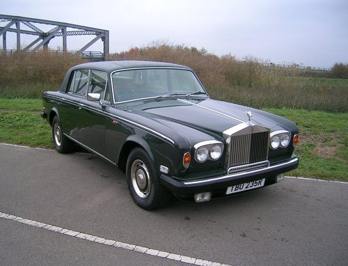 1977 Rolls Royce Shadow II 6.75L V8 Automatic  For Sale (picture 1 of 6)