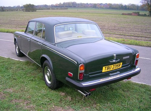 1977 Rolls Royce Shadow II 6.75L V8 Automatic  For Sale (picture 4 of 6)
