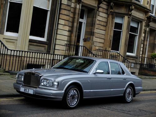 2001 ROLLS SILVER SERAPH - LAST OF LINE - JUST 15K MILES ! For Sale (picture 1 of 6)
