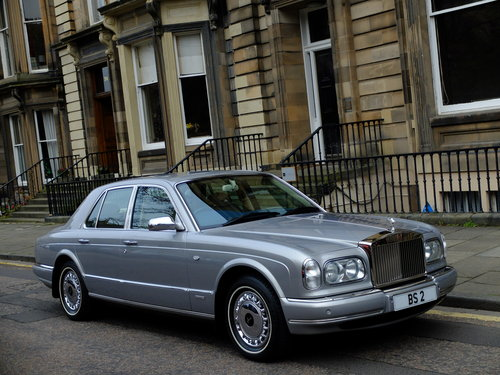 2001 ROLLS SILVER SERAPH - LAST OF LINE - JUST 15K MILES ! For Sale (picture 2 of 6)