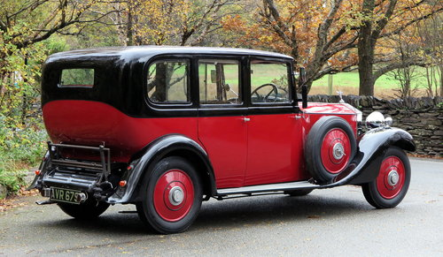1934 Rolls-Royce 20/25 Hooper Limousine GKC7 For Sale (picture 2 of 6)