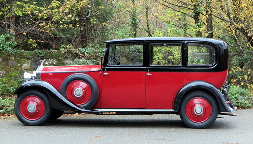 1934 Rolls-Royce 20/25 Hooper Limousine GKC7 For Sale (picture 3 of 6)