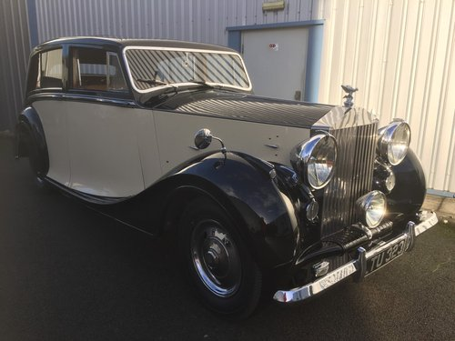 1949 ROLLS ROYCE  SILVER WRAITH  HOOPER Teviot  Limousine For Sale (picture 1 of 6)