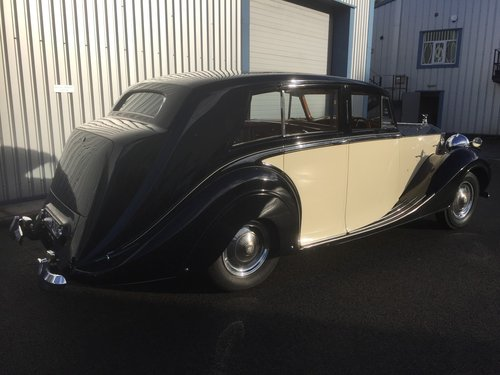 1949 ROLLS ROYCE  SILVER WRAITH  HOOPER Teviot  Limousine For Sale (picture 2 of 6)