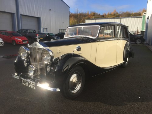 1949 ROLLS ROYCE  SILVER WRAITH  HOOPER Teviot  Limousine For Sale (picture 4 of 6)