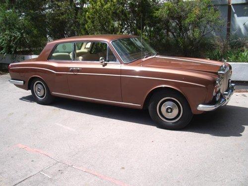 1973 ROLLS ROYCE CORNICHE COUPE RHD For Sale (picture 1 of 6)