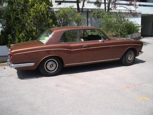 1973 ROLLS ROYCE CORNICHE COUPE RHD For Sale (picture 2 of 6)