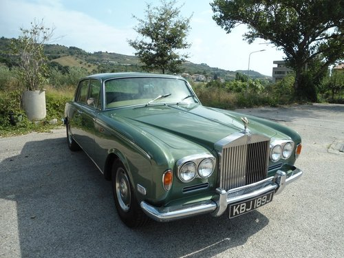 1971 Rolls Royce Silver Shadow For Sale (picture 1 of 6)