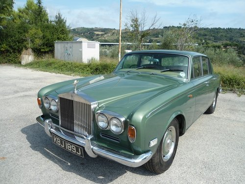 1971 Rolls Royce Silver Shadow For Sale (picture 2 of 6)