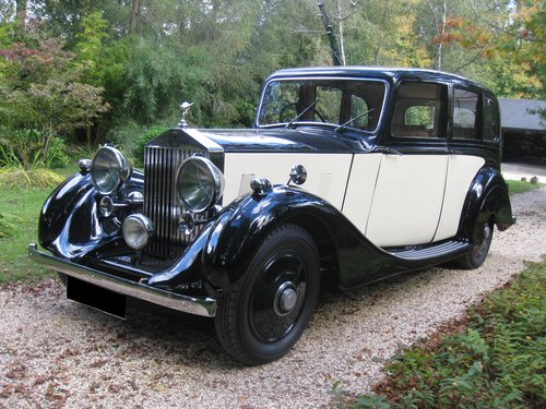 1938 Rolls-Royce 25/30 with Coachwork by James Young For Sale (picture 5 of 6)